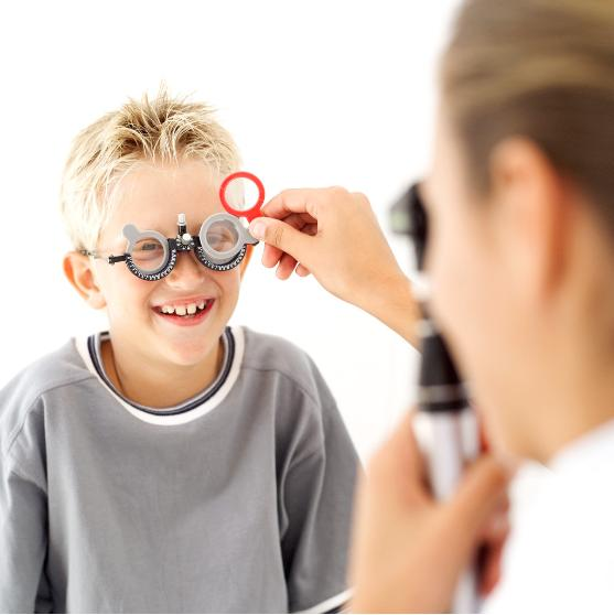 childs eye exam