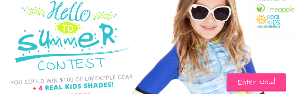 Real Kids Shades - Lime Apple Summer Contest