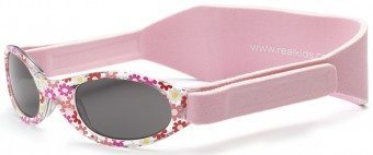 My First Shades Baby Sunglasses Pink Flowers