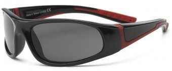 Bolt Kid Sunglasses Black Red