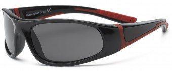 Bolt Kid Sunglasses Black Red