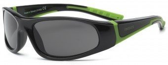 Bolt Kids Sunglasses Black and Green