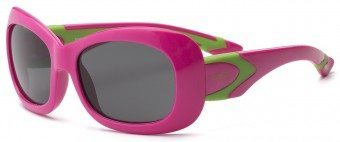 Breeze Kids Sunglasses Pink Green