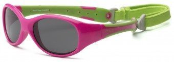Explorer Kids Sunglasses Pink Green