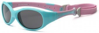 Explorer Toddler Sunglasses Turquoise Pink