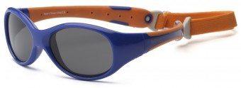 Explorer Toddler Sunglasses Blue and Orange