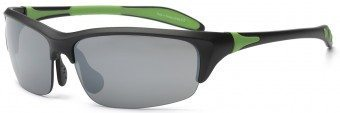 Blade Young Adult Sunglasses Black Green