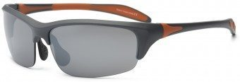 Blade Young Adult Sunglasses Grey and Orange