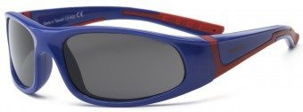 Bolt Youth Sunglasses Blue and Red