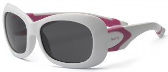Breeze Youth Sunglasses White Pink