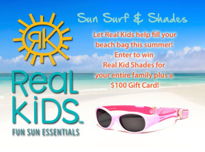 Get Your Pair of Real Kids Shades with the Sun, Surf & Shades Contest