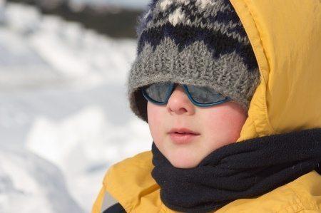 Sunglasses and Snow