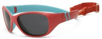 Adventure Sunglasses Orange Turquoise