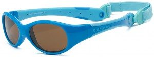 Explorer Baby Sunglasses Blue Turquoise