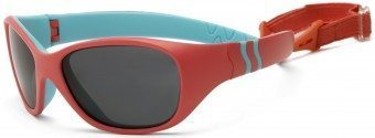 Adventure Toddler Sunglasses Orange Turquoise