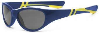 Discover Youth Sunglasses Blue Yellow