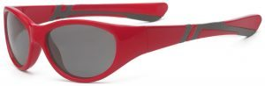 Discover Youth Sunglasses Red Grey