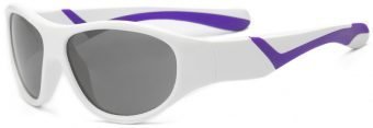 Discover Youth Sunglasses White Purple