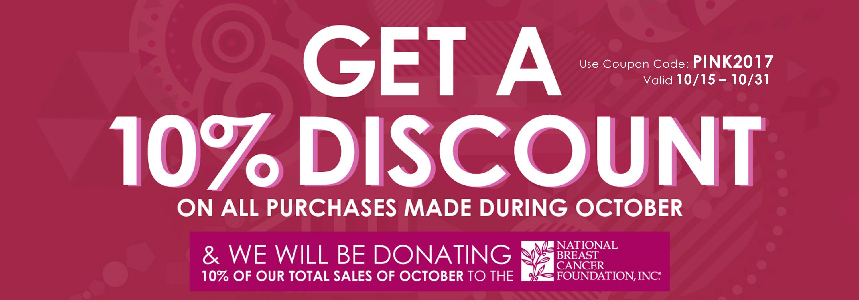 October Discount