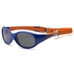 Explorer Navy/Orange Sunglasses