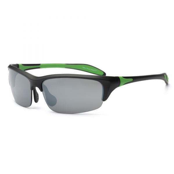 Black and Lime Green Sunglasses
