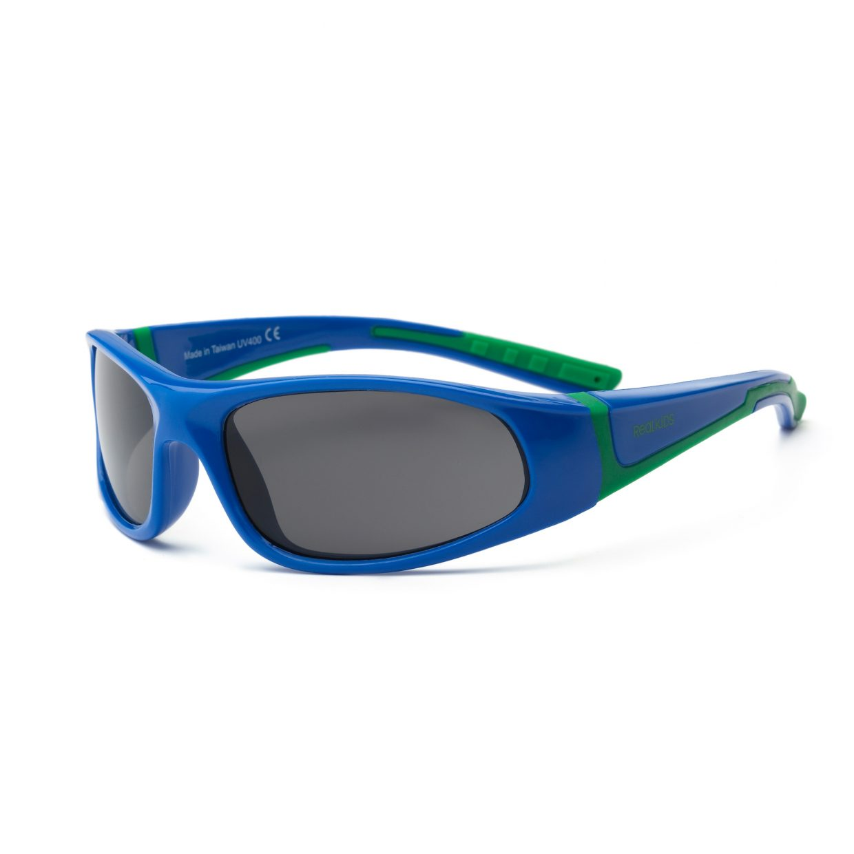 Royal Blue and Green Sunglasses