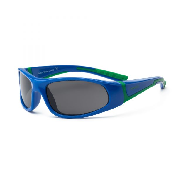 Royal Blue and Green Sunglasses