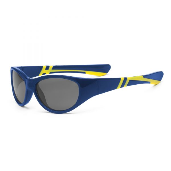 Navy and Yellow Sunglasses