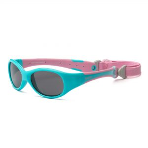 Explorer Aqua and Pink Sunglasses