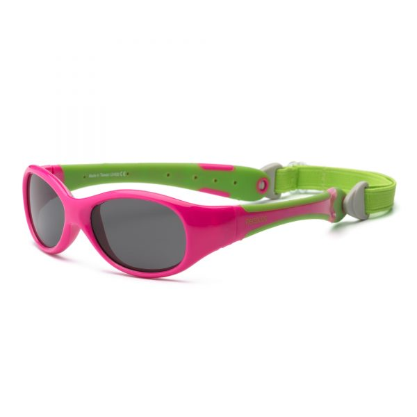 Pink and Lime Sunglasses