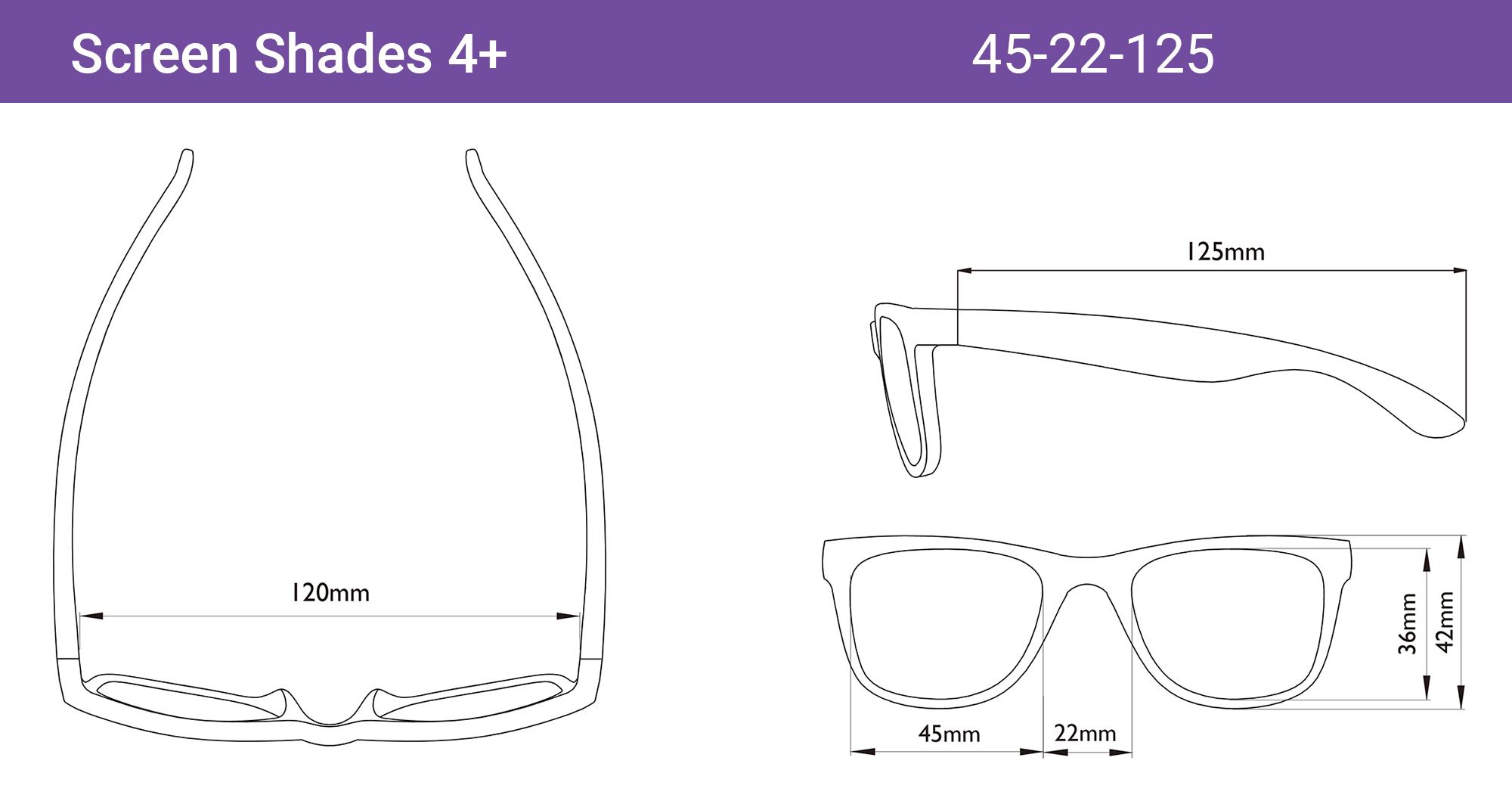 938f763751 Screen Shades Computer Glasses for Kids - Real Kid Shades