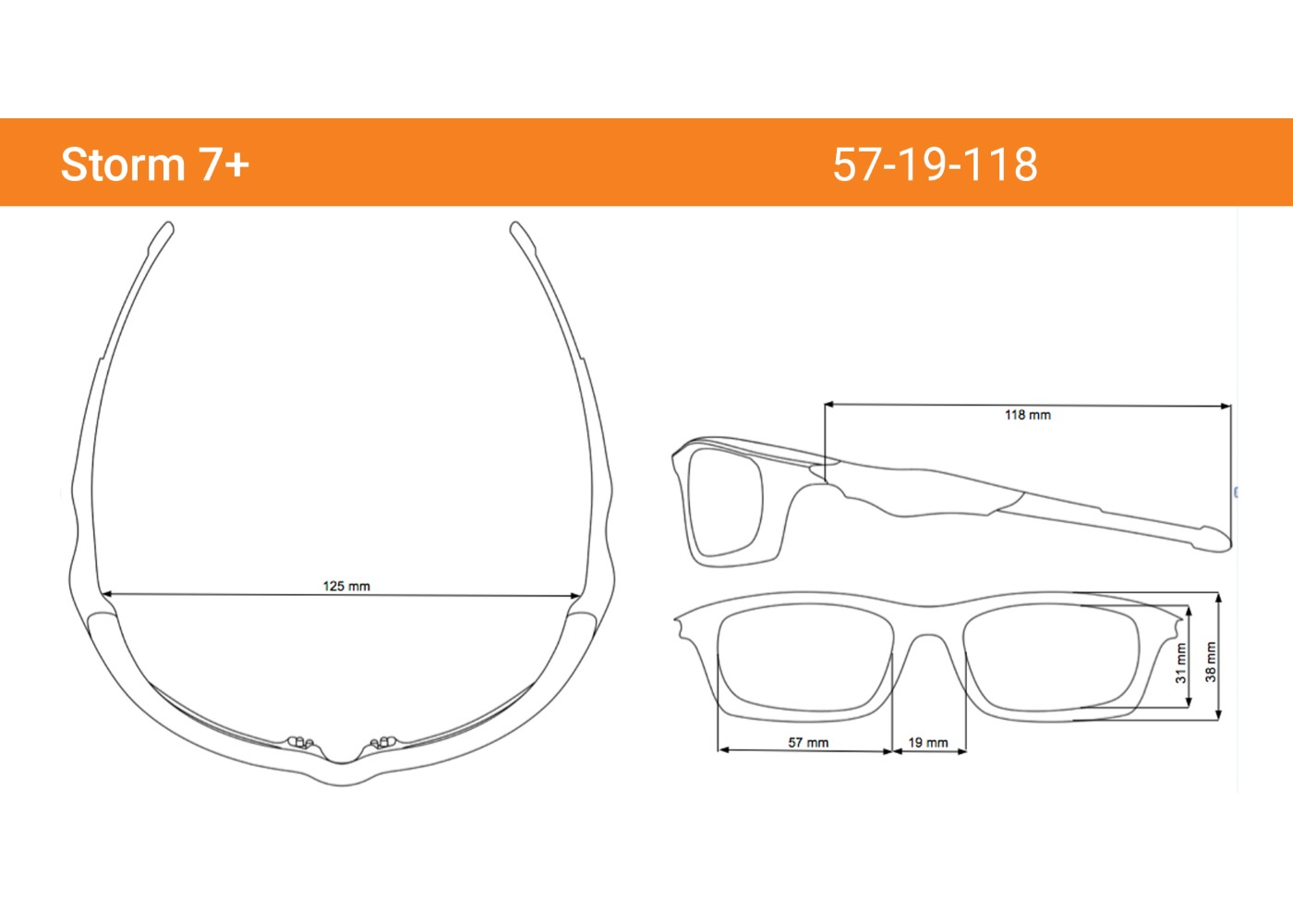 e1c86b02f5 Storm Polarized Sunglasses for Youth